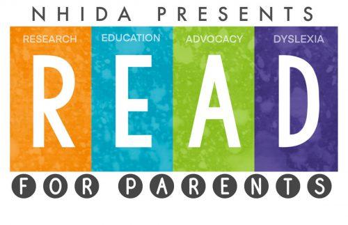 NHIDA Read for Parents Logo